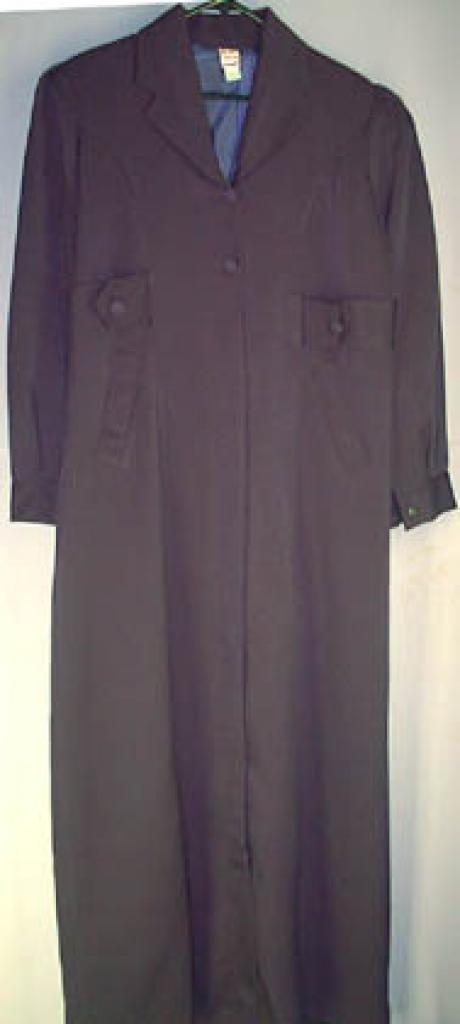 Jordanian Coat Style Jilbab-lined ji120