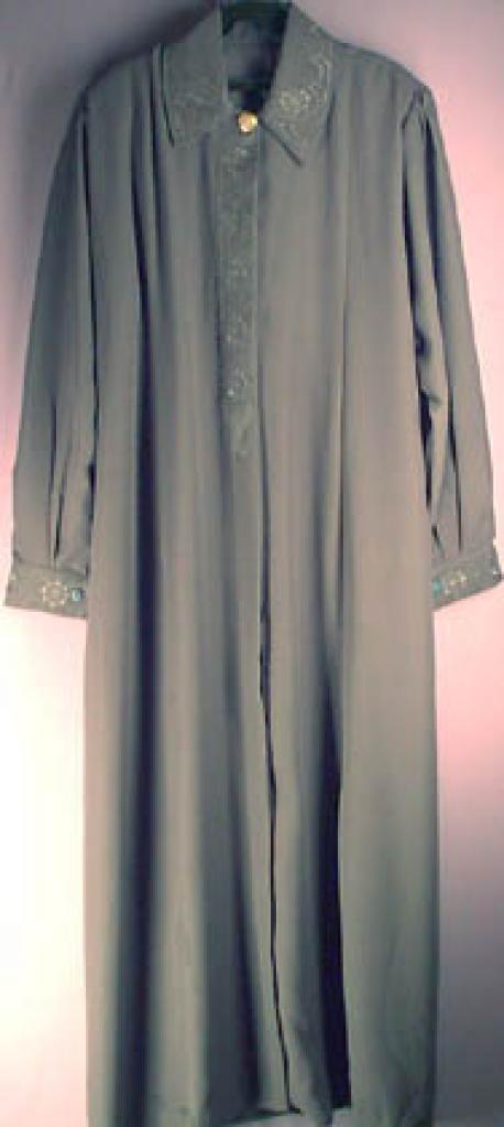 Jordanian Plus Sized Embroidered Jilbab  ji126