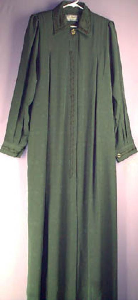 Jordanian Jaquard embroidered Jilbab Tall length ji128