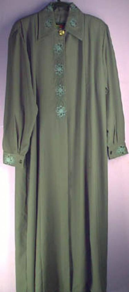 Jordanian Plus Sized Embroidered Jilbab ji129
