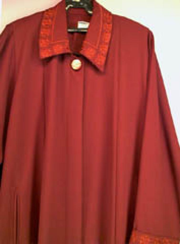 Jordanian Embroidered Coat Style Jilbab ji238