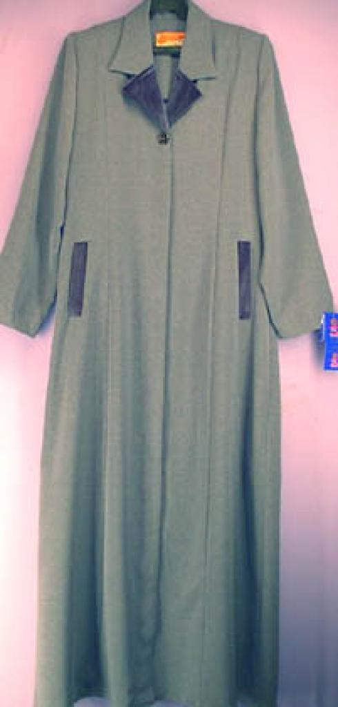 Velvet Trim Jordanian Jilbab ji241