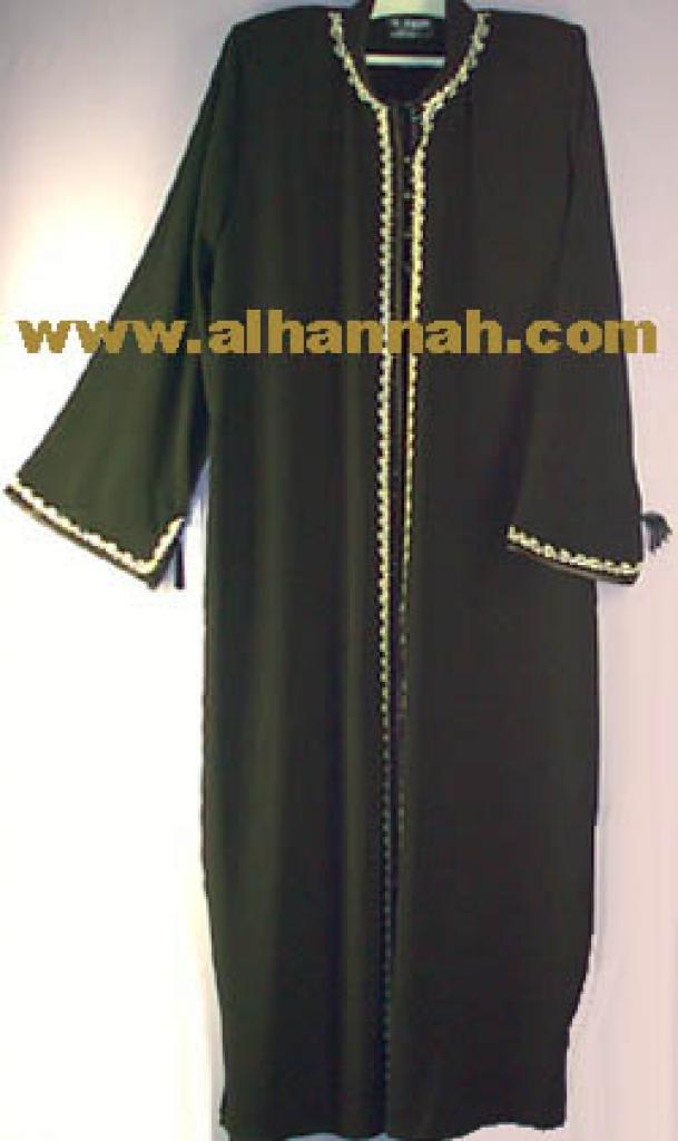 Faux Khalidje Abaya Style Thobe ji321