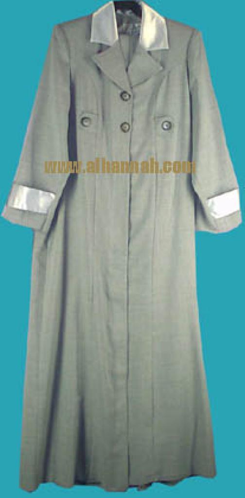 Jordanian Jilbab with Matching Pants  ji402