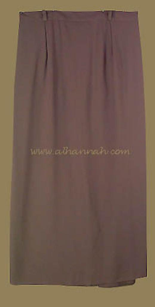 Classic Middle Eastern Plus Size Maxi Skirt ji422