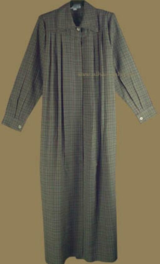 Pleated A-line jilbab ji507