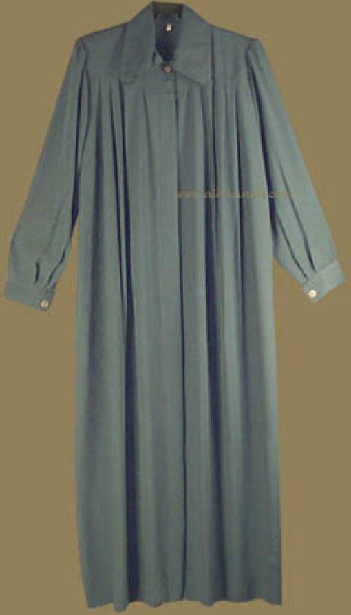Pleated A-line jilbab   ji509