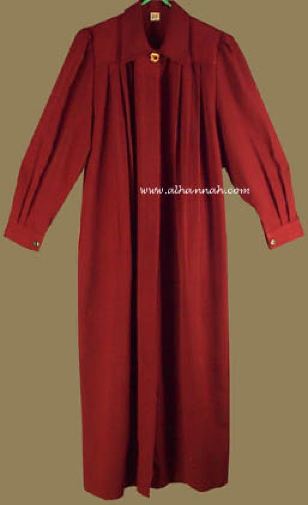 Classic  Pleated Jordanian Jilbab ji523