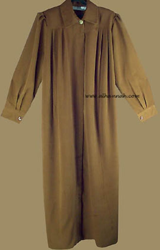 Classic Pleated Jordanian Jilbab ji525