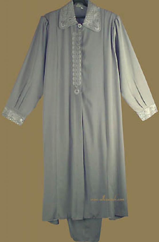 Plus Size Jordanian Pants Suit   ji529