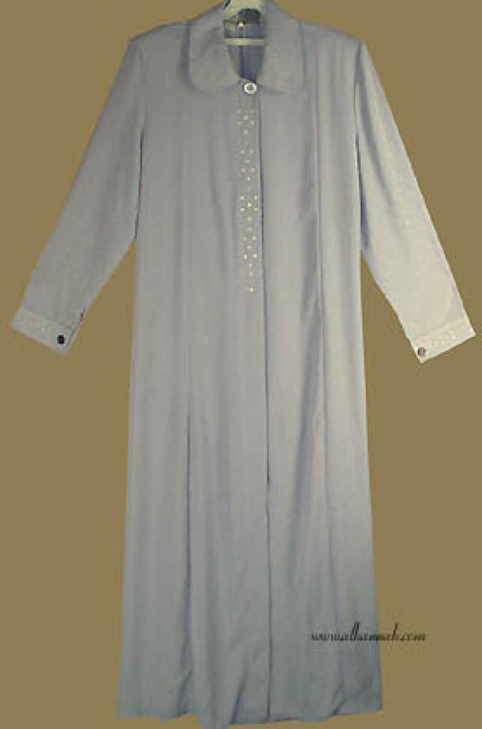 Classic Jordanian Embroidered Jilbab  ji530