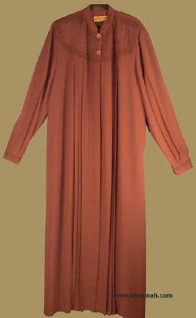 Extra Tall Length  Pleated Jordanian Jilbab  ji536