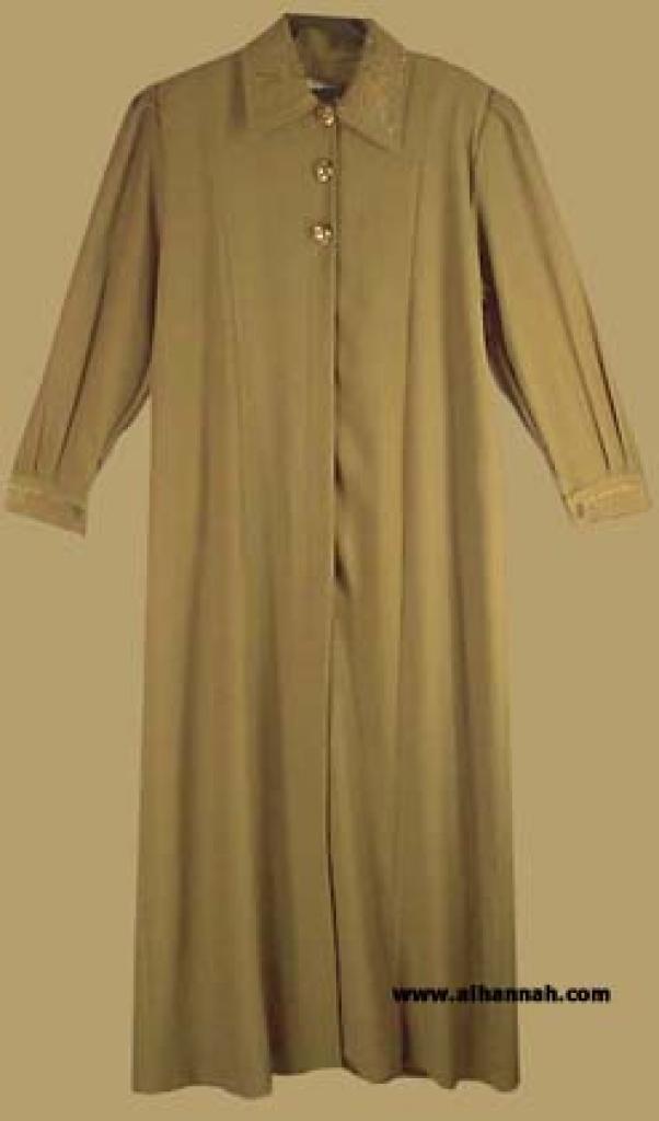 Tailored  A Line Jordanian Jilbab   ji538