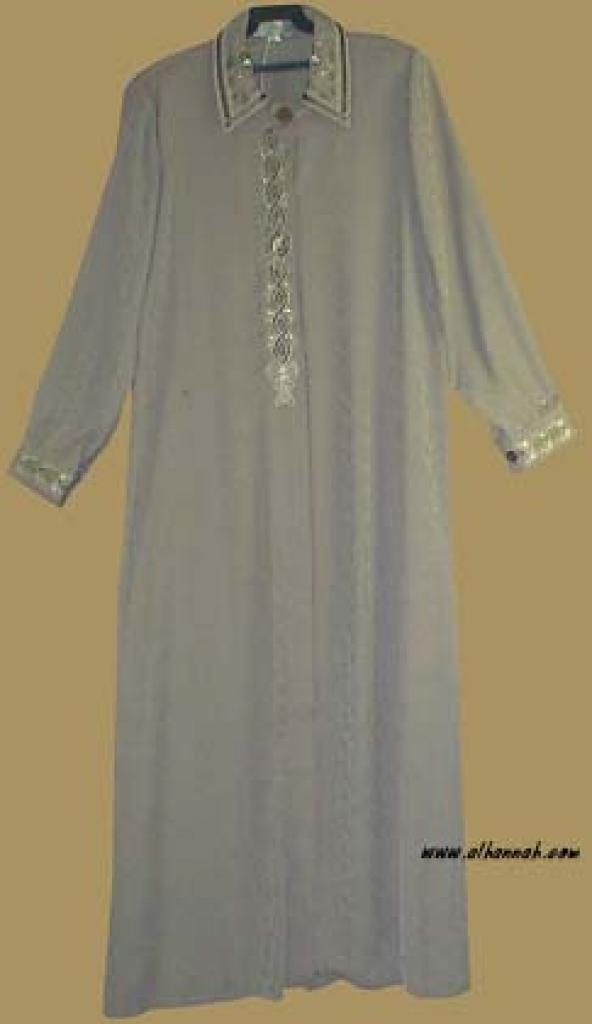 Classic Jordanian Embroidered Jilbab ji540