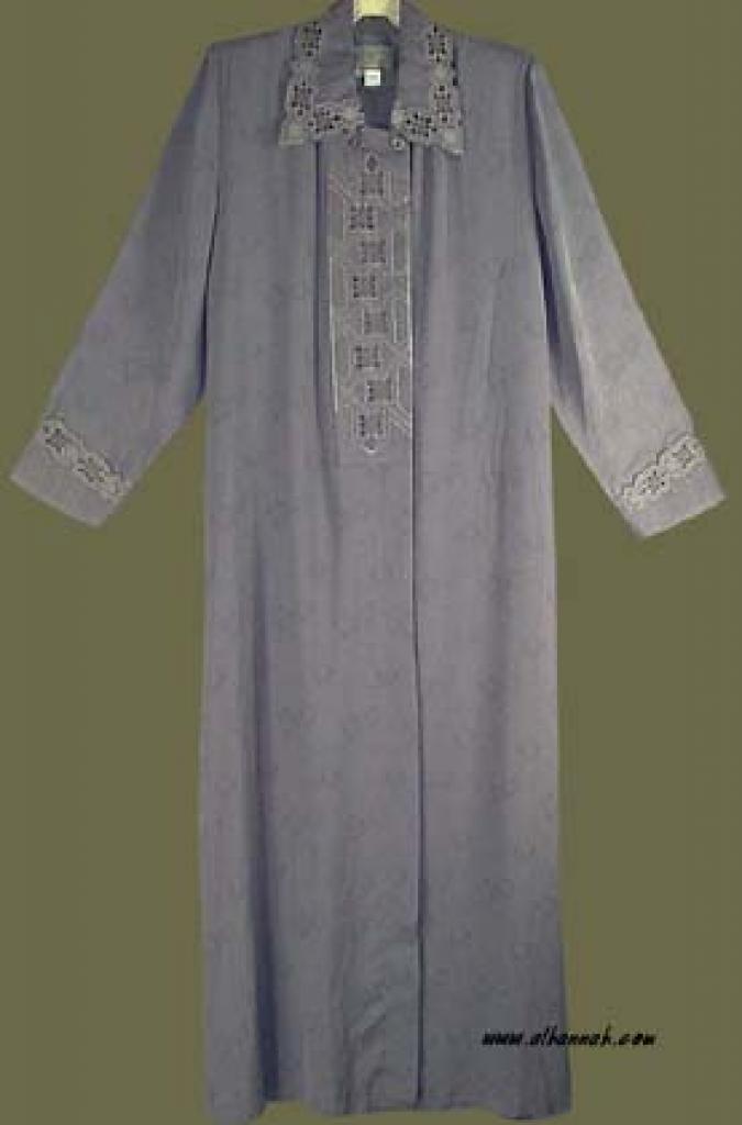 Classic  Embroidered Jordanian Jilbab  ji542