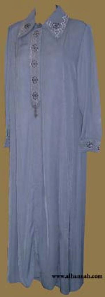 Classic Embroidered Jordanian Jilbab ji549