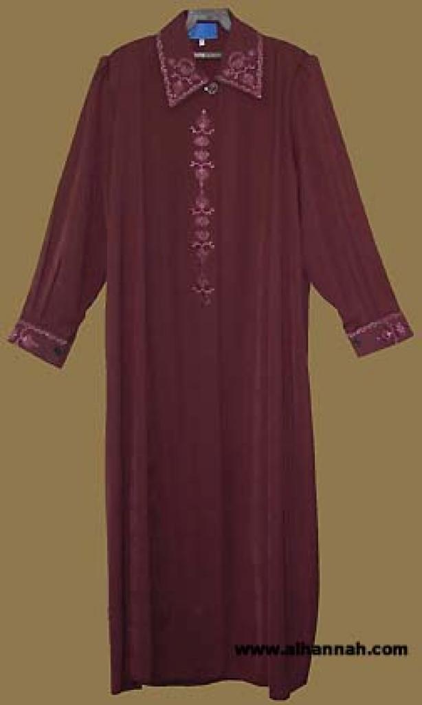 Embroidered Jordanian Jilbab   ji552