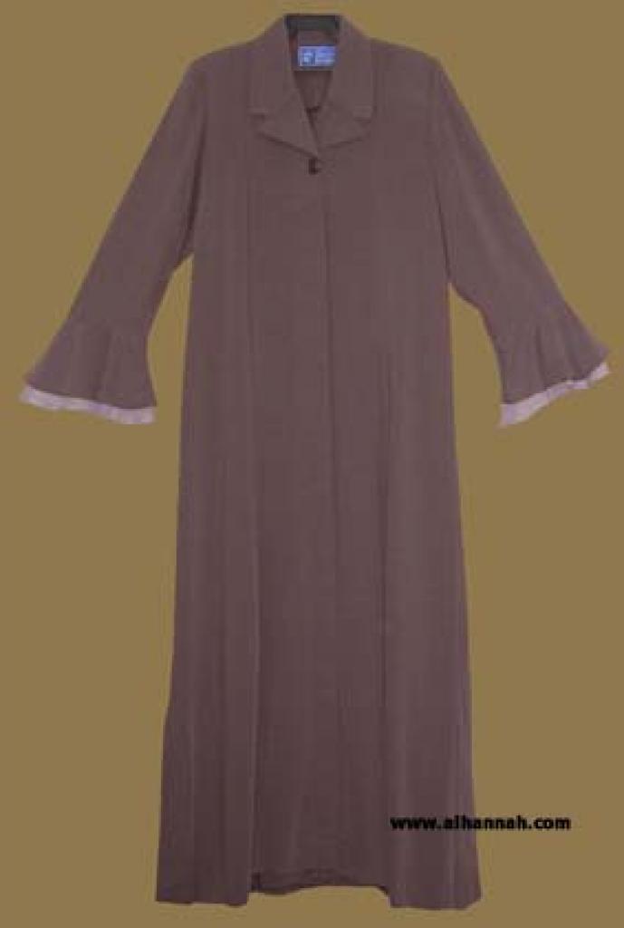 Petite Size - Classic Jordanian Tailored Jilbab  ji553