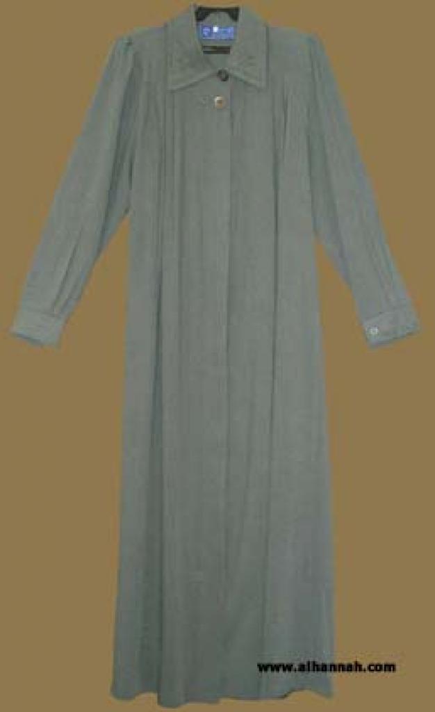 Plus Size/Extra Tall - Classic Pleated Jordanian Jilbab ji554