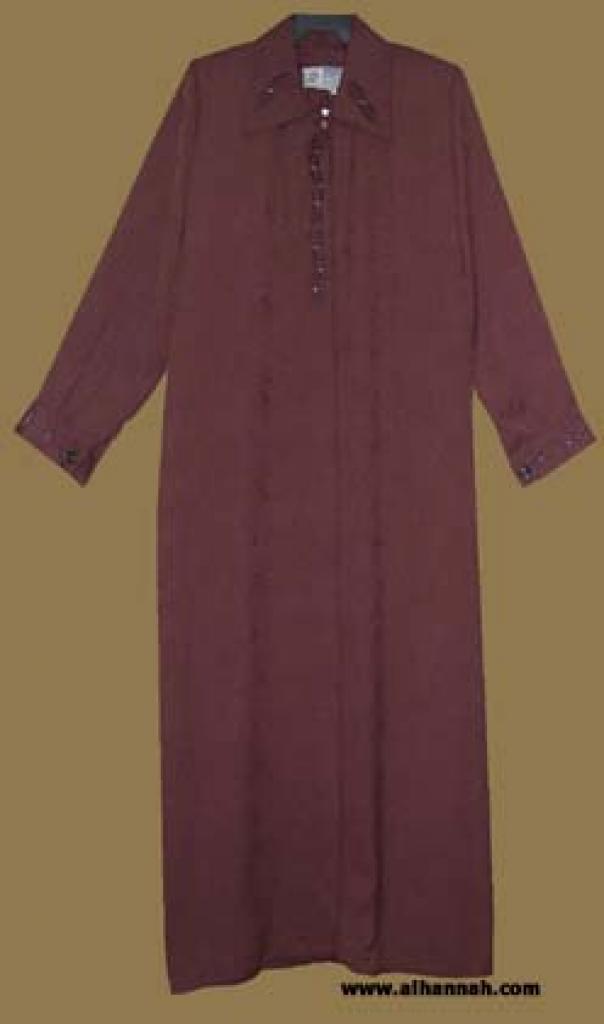 Classic Jordanian Embroidered Jilbab  ji556