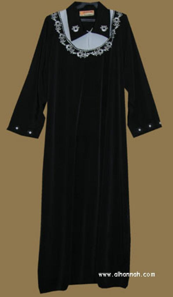 Embroidered Moroccan Jilbab ji560
