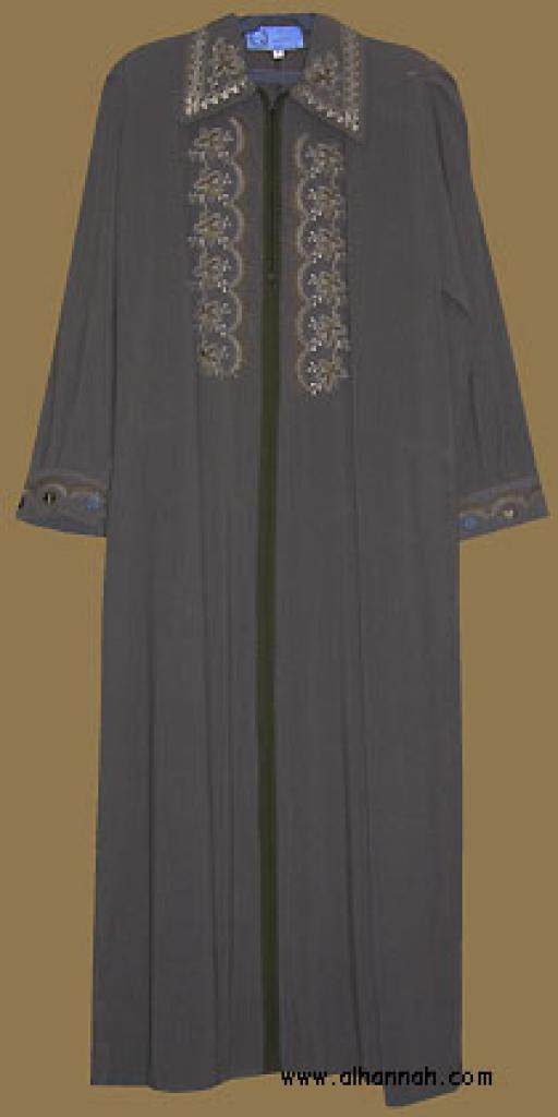 Embroidered Jordanian Jilbab ji562