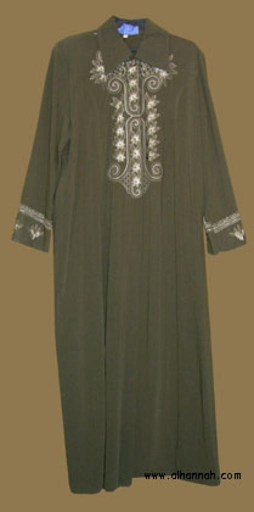 Embroidered Jordanian Jilbab ji563
