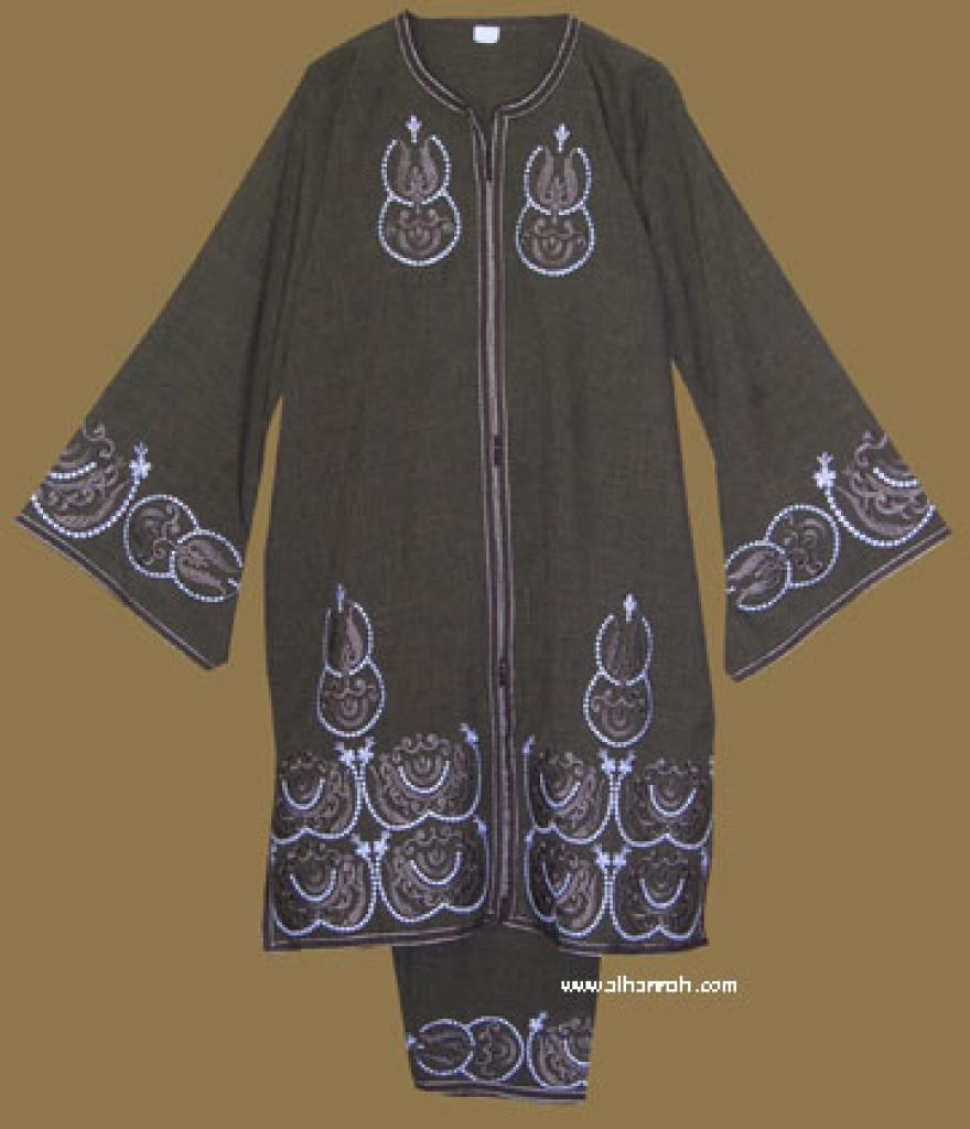 Embroidered Moroccan Pants Suit  ji569