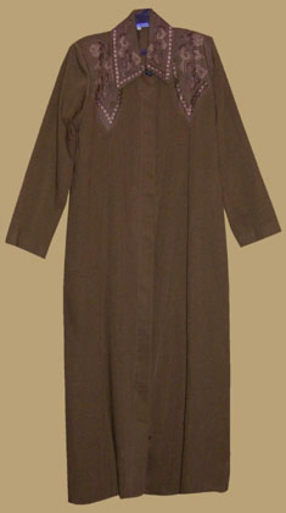 Classic Jordanian Embroidered Jilbab ji575
