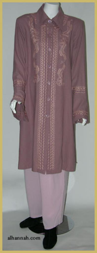 Premium Cotton Blend Jordanian Pants Suit ji600