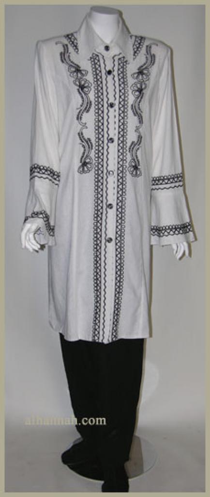 Premium Cotton Blend Jordanian Pants Suit ji606