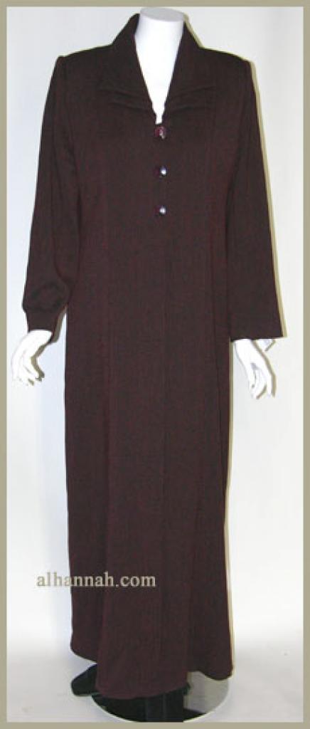 Classic Jordanian Lined Jilbab ji607