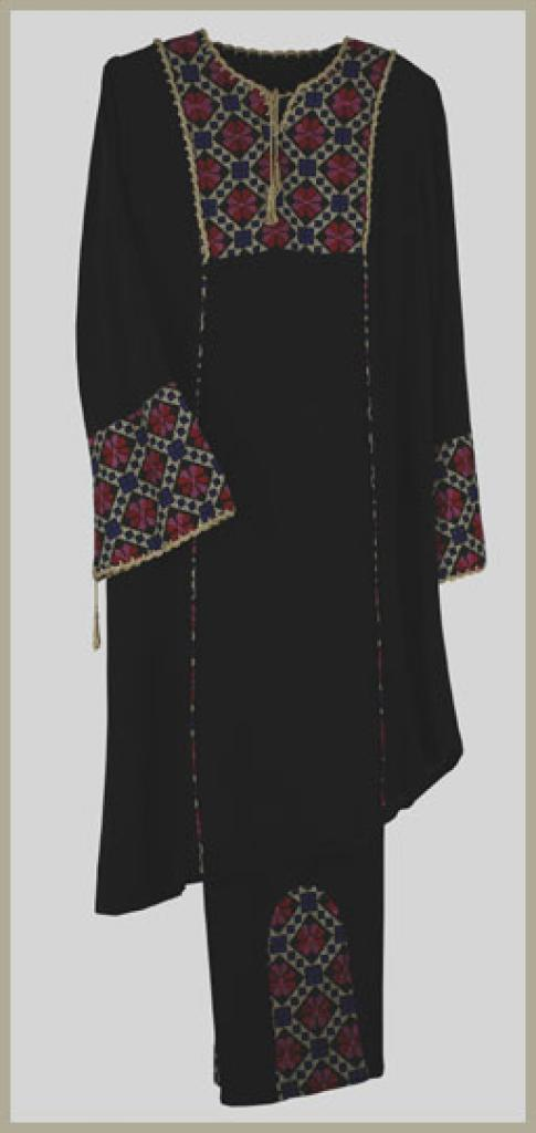 Jilbab and pants suit - Jordanian