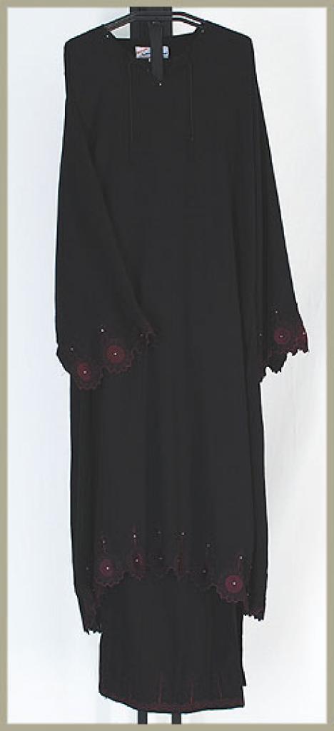 Embroidered Saudi Pants Suit ji617