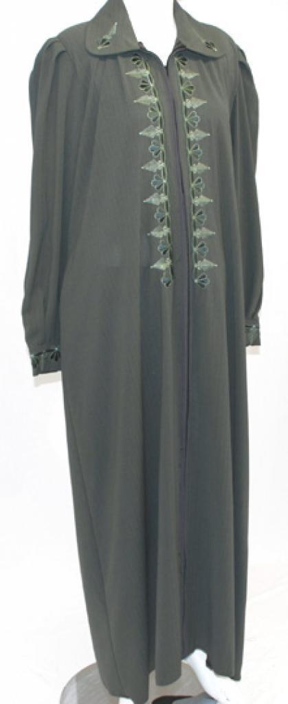Nismah Jordanian Jilbab with Embroidery  ji634