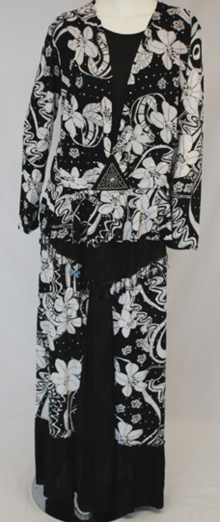 Petite Floral Skirt Set Floral Print ji642