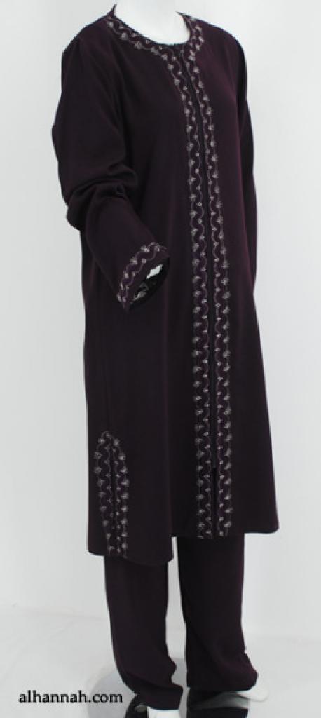 Al Karam Premium Embroidered Womens Pants Suit ji649