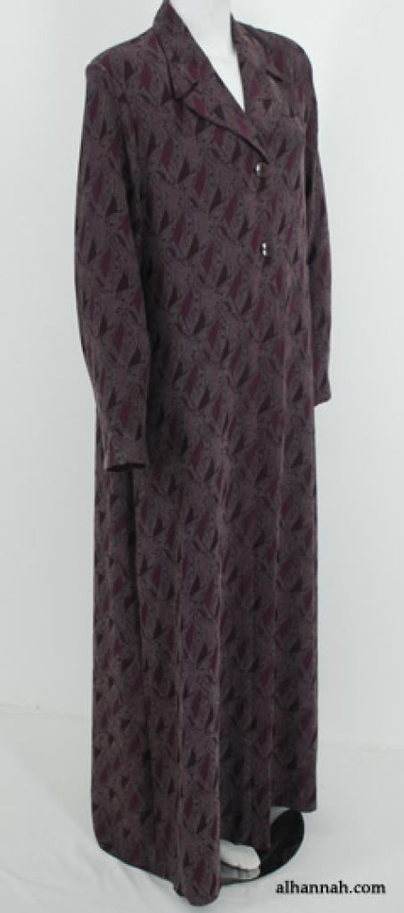 Jacquard Pattern Jordanian Jilbab ji650