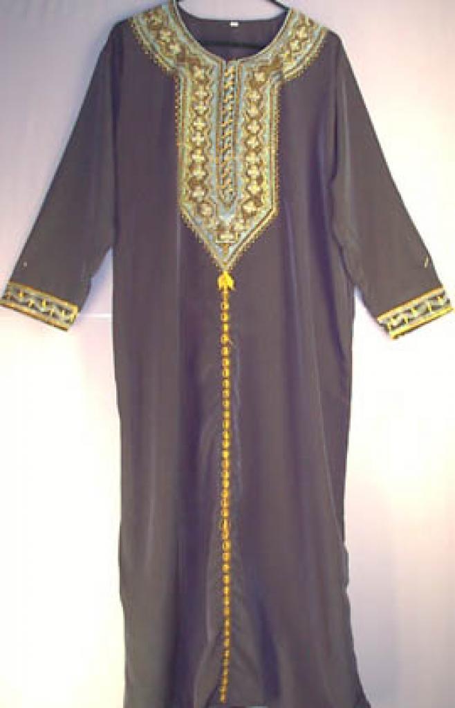 Jordanian Embroidered Thobe jo201