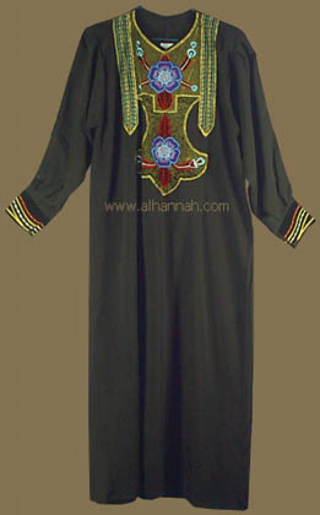 Embroidered Syrian Thobe  jo404