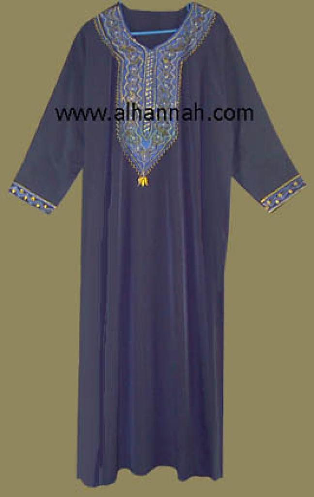 Embroidered Bedouin Style Thobe jo408