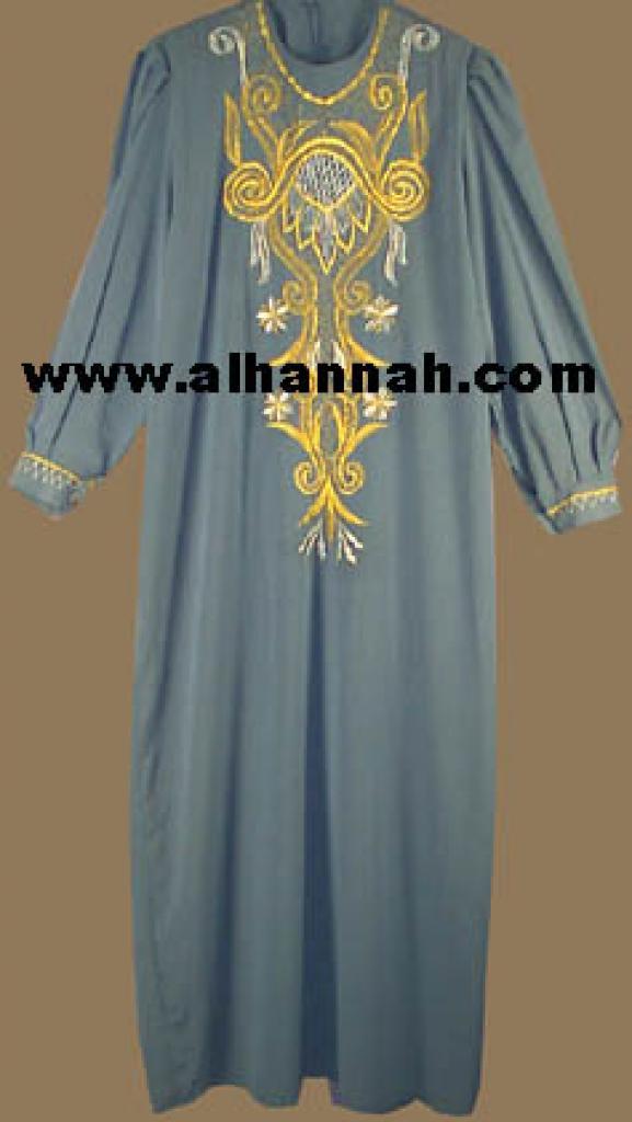 Embroidered Jordanian Thobe jo412