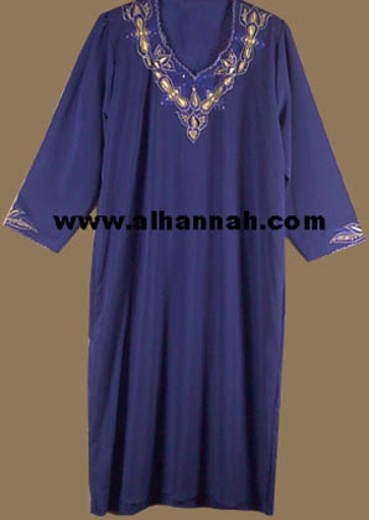 Embroidered Jordanian Thobe  jo413