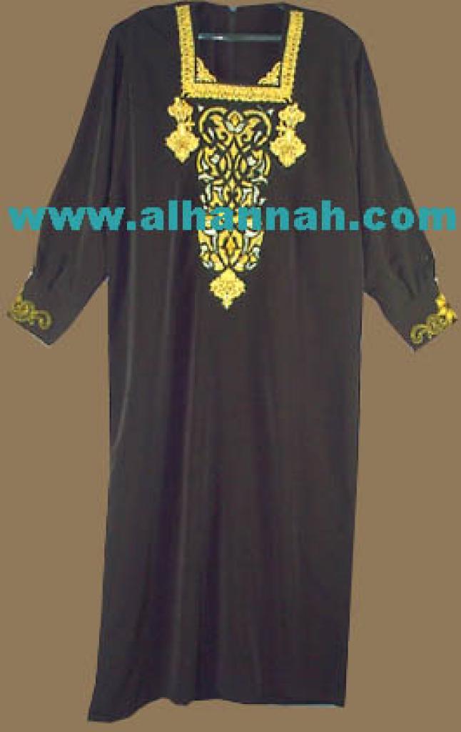 Embroidered Jordanian Thobe  jo414