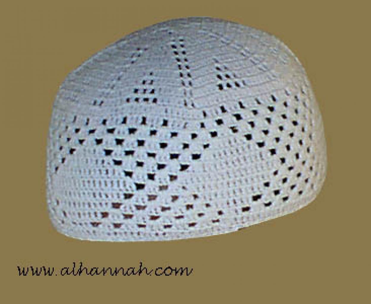 Traditional Cotton Kufi   me102