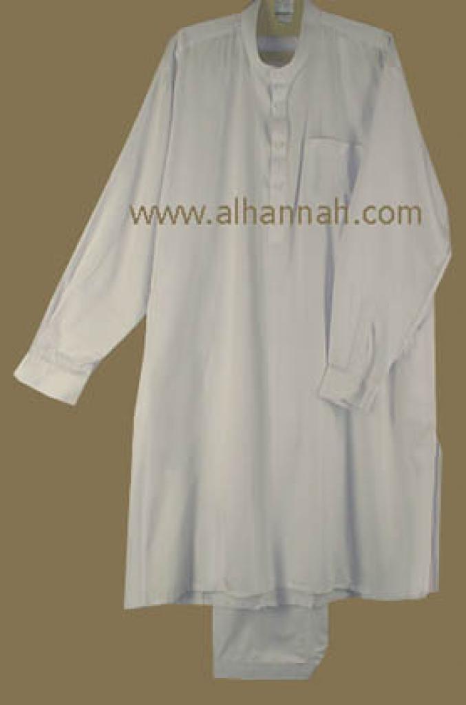 Executive Class White Salwar Kameez  me400