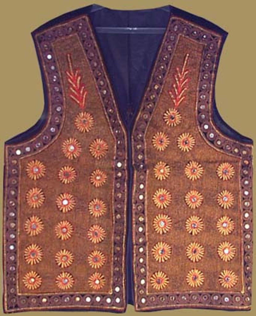 Mens Embroidered Vest me430