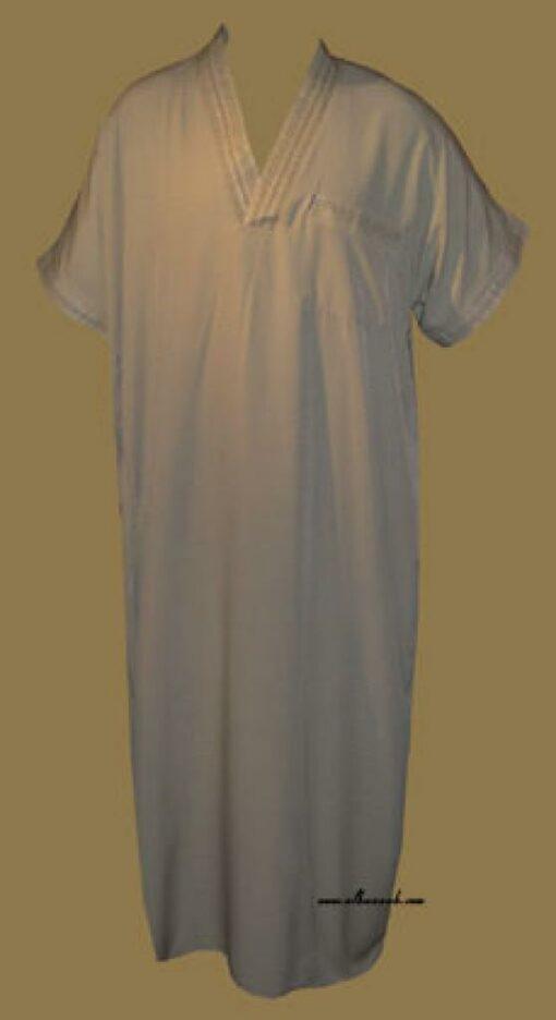 Mens' Moroccan Style Dishdasha me452
