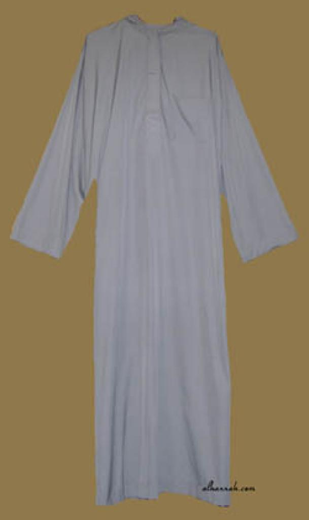 Men's Hooded Moroccan Style Thobe me460
