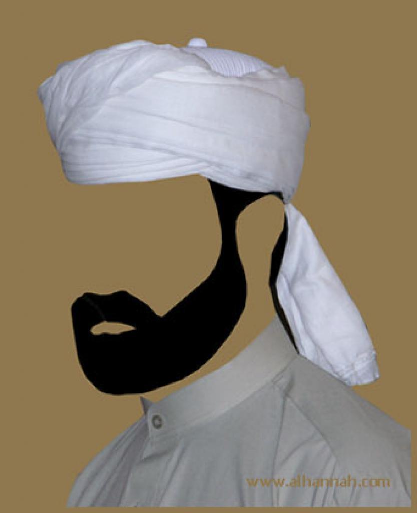 Pre-Wrapped Turban me461